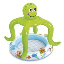 Intex Smiling Octopus Baby Pool Inflatable Paddling Pool Water Garden