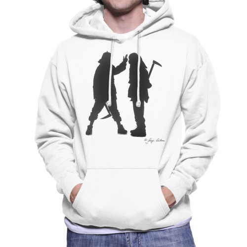 George DuBose Official Photography - Mobb Deep Silhouette Men's Hooded Sweatshirt