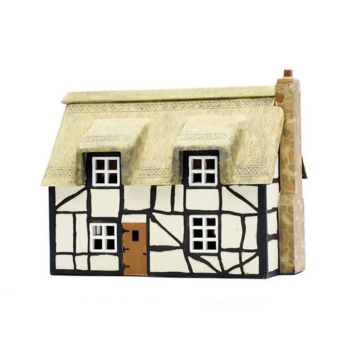 OO Building plastic kit (house) - Thatched Cottage - Dapol Kitmaster C020