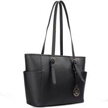 Miss Lulu Women Adjustable Shoulder Handbag Tote Bag
