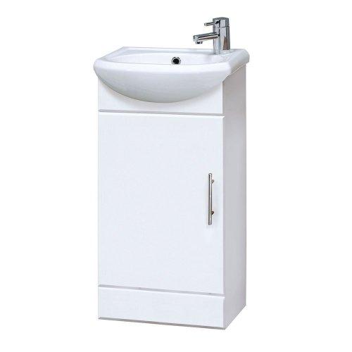 Cloakroom 420mm Cabinet & Basin