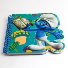 Smurfs Brainy Die Cut Notebook -