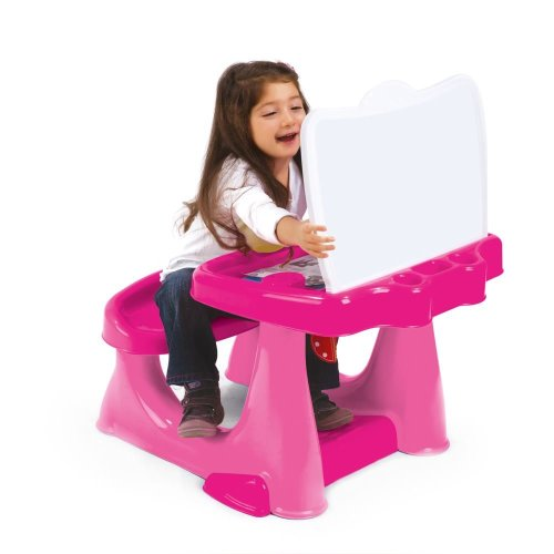 Dolu Pink Children Kids Study Drawing  Reading Art Desk Table