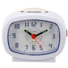 Widdop Led Back Light Alarm Clock with Silent Sweep Movement!