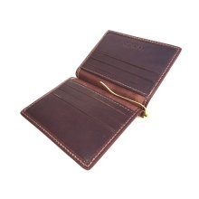 Golunski New Mens Premier Leather Gents Money Clip