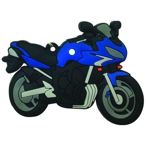 Yamaha FZ6 Fazer rubber key ring motor bike cycle gift chain keyring