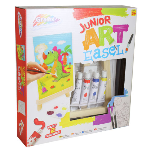 Junior Art Easel Painting Pack by Grafix - Age 5+
