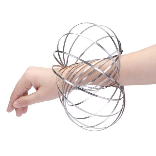Magic Ring - Kinetic Spring Science Toy Metal Flow Rings