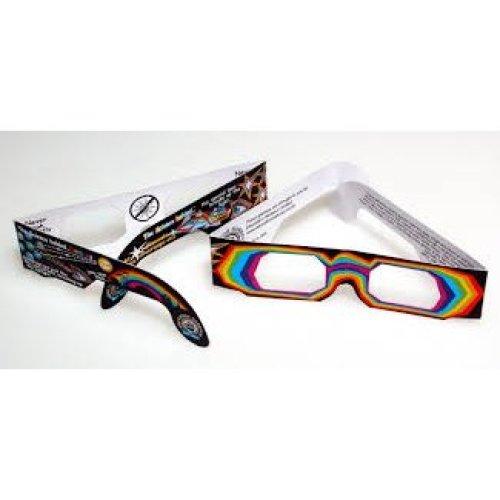 Rainbow Diffraction Glasses for Children