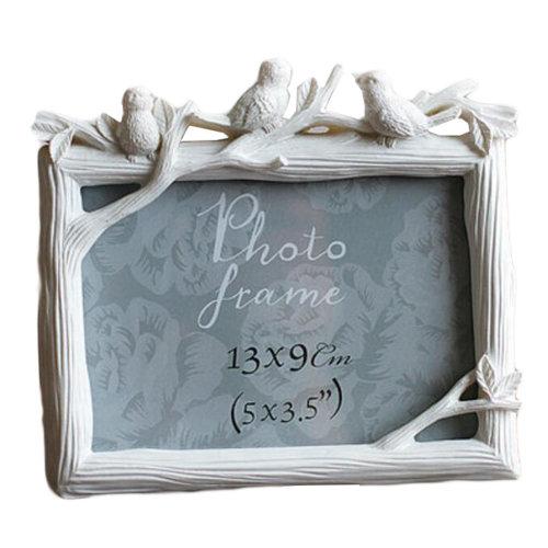 Resin Frames/Creative Photo/Album Frame/ Nursery Picture Frames-White