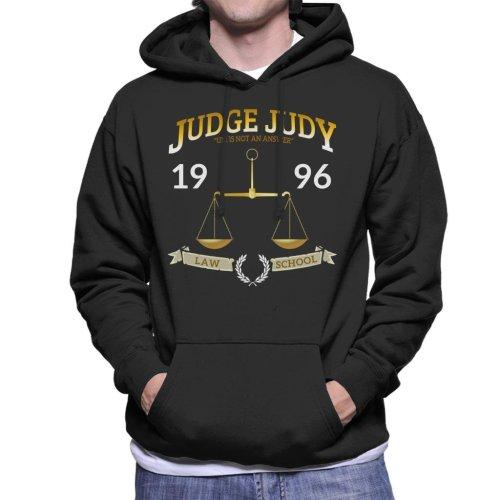 Judge Judy School Of Law Men's Hooded Sweatshirt