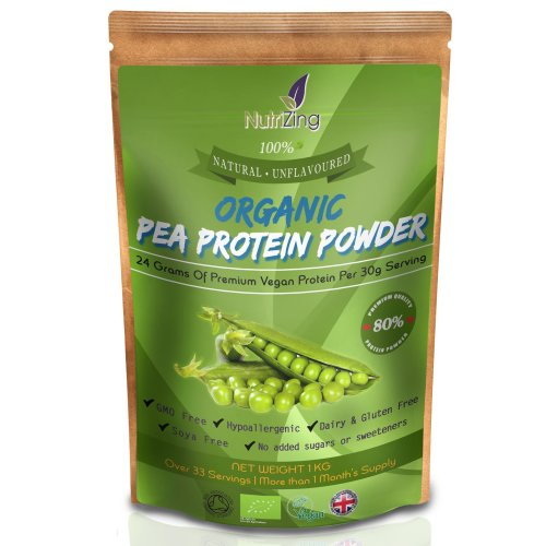NutriZing's Organic Pea Protein