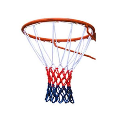 TRIXES 12 Loop Nylon Basketball Net Red/White/Blue