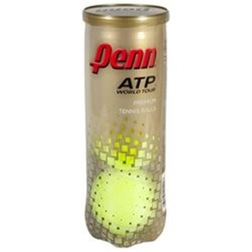Penn 55092 ATP Regular Duty Tennis Balls - Bright Yellow