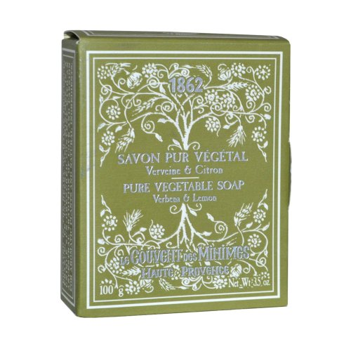 Le Couvent des Minimes Verbena & Lemon Pure Vegetable Soap 100g