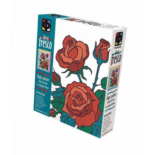 Elf407058 - Fantazer - Glossy Fresco Sand Picture - 2 Roses