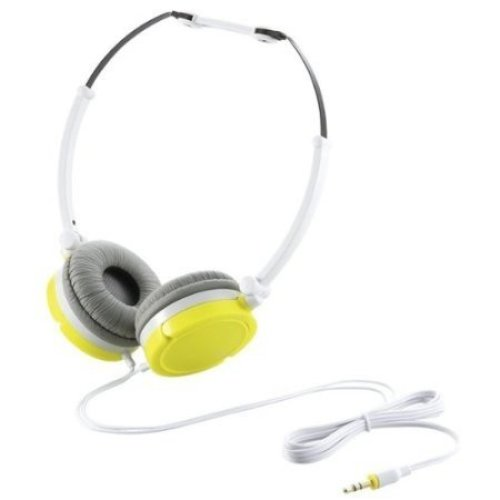 Elecom Contrast Headphones - Lime Green