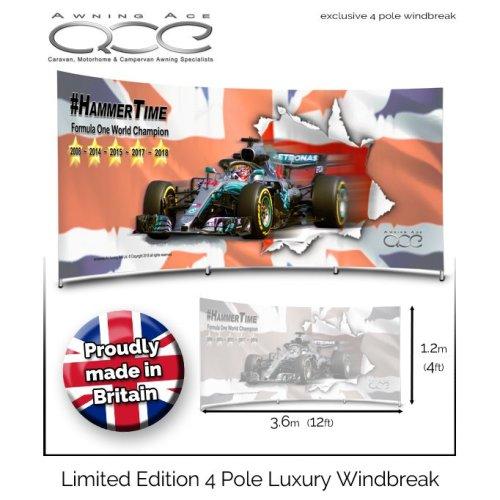 Lewis Hamilton F1 World Champion Limited Edition Windbreak