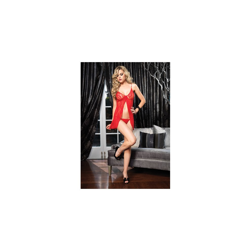 a7250d931ef6d Romantic Babydoll & G-String - Red S/L Ladies Lingerie Baby doll Sets. >