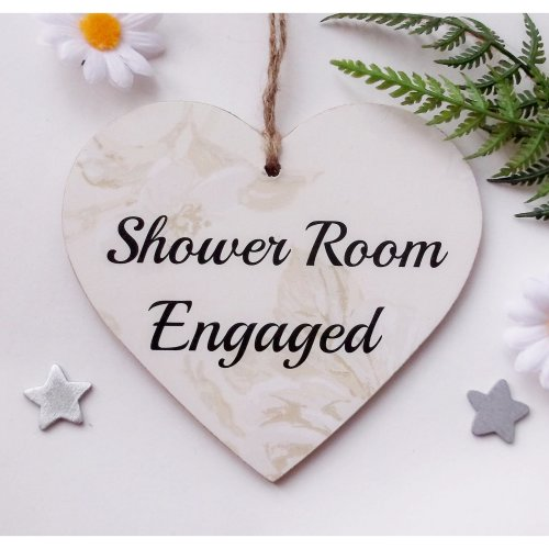 Shower Room Engaged/Vacant Door Plaque