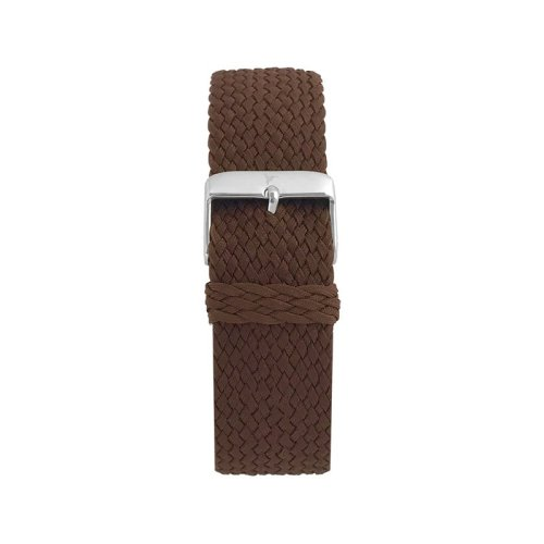Wallace Hume Espresso Brown Men's Perlon Watch Strap