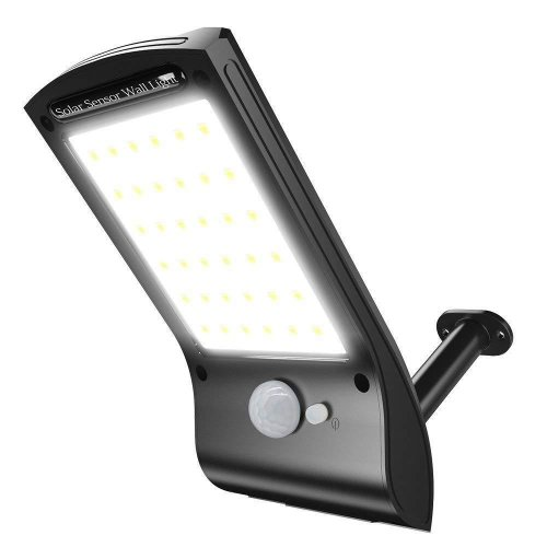 36 LED Solar Sensor Wall Light | Motion Sensor Security Light