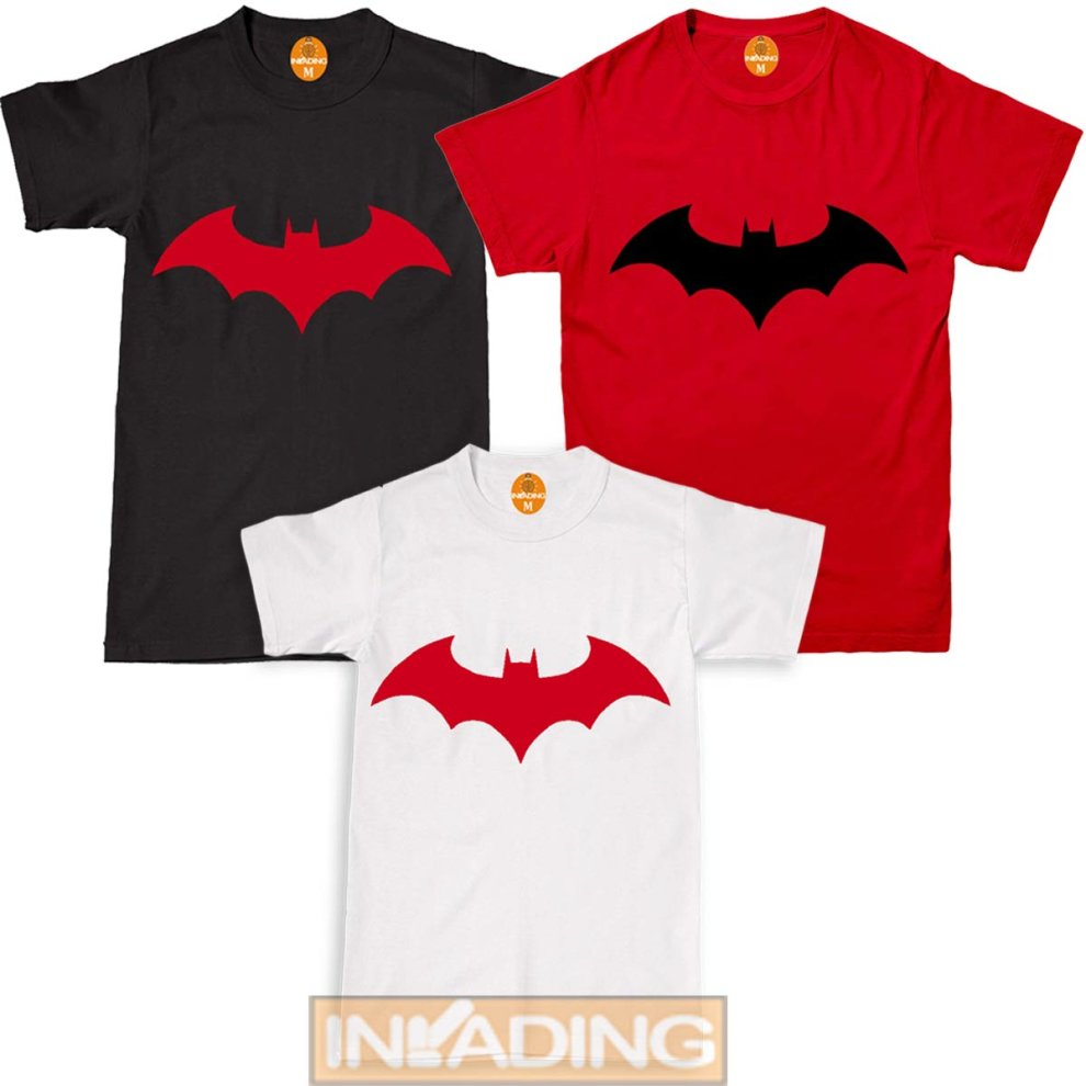 batman chest logo t-shirt halloween costume on onbuy