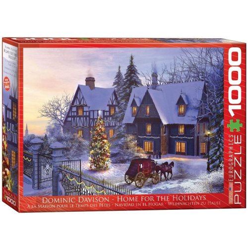Eg60000428 - Eurographics Puzzle 1000 Pc - Home for the Holidays