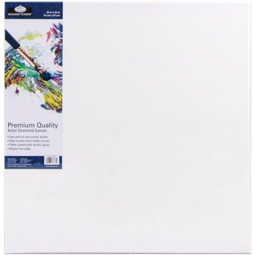 """essentials(TM) Premium Stretched Canvas-24""""X24"""""""