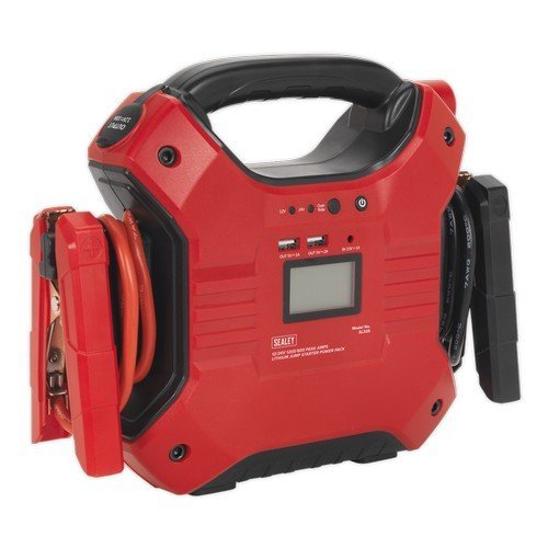 Sealey SL32S Jump Starter Power Pack Lithium Iron Phosphate (LiFePo4) 12/24V 1200/600 Peak Amps