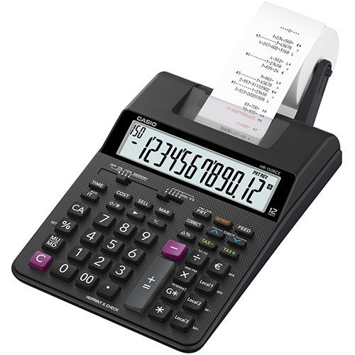 Casio HR-150RC Desktop Printing calculator Black