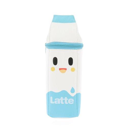 Tokidoki Milk Carton Pencil Case Novelty Latte Moofia Gang Blue & White