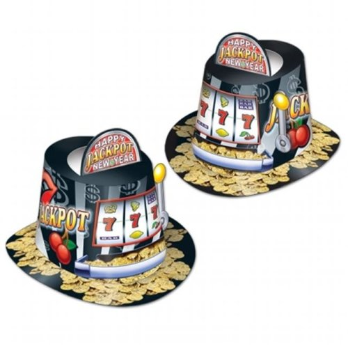 41aa4c7884799 Beistle Company 88188-25 Jackpot Hi-Hat on OnBuy