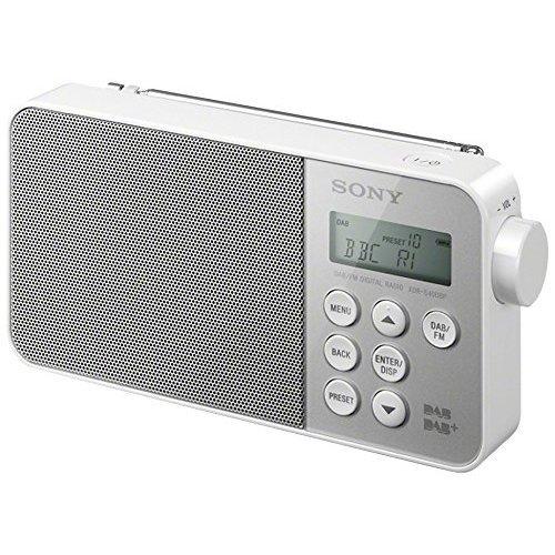Sony XDRS40DBPW.CEK DAB + FM Portable Radio - White - (TV & Audio > DAB Digital Radio)