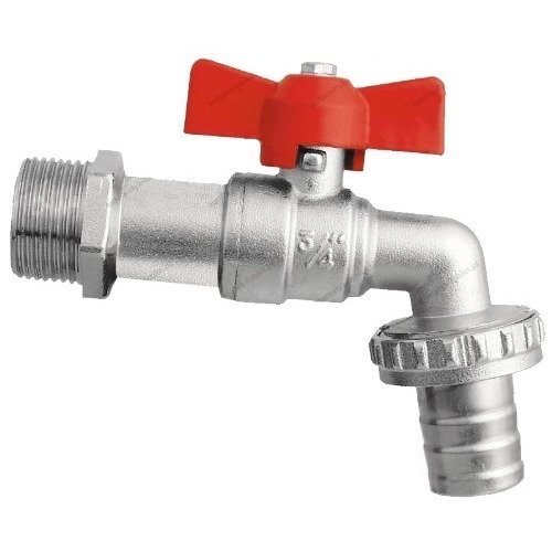 Garden Hose Tap 1/2 3/4 Bsp Butterfly Handle Ball Valve Bib Water Hose Pipe