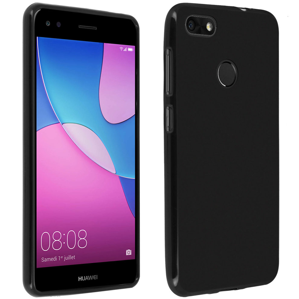 save off 01d48 51320 TPU soft case, matte back cover for Huawei Y6 Pro 2017 – Black