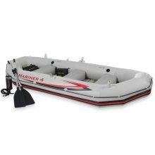 Intex 68376 Mariner 4 Inflatable Boat Set | 4 Person Blow-Up Boat