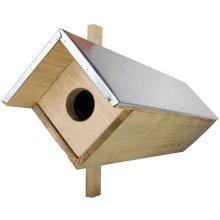 Esschert Design Little Owl Nesting Box 80.5x31x52 cm NK44