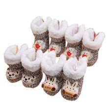 Winter Warm Unisex Baby Shoes Toddler Booties Infant Walking Shoes Baby Shower Gift, #19 Random Style