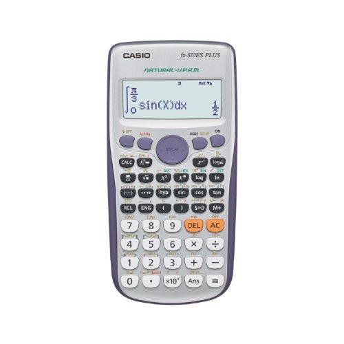 Casio FX-570ES PLUS Scientific Calculator, Battery