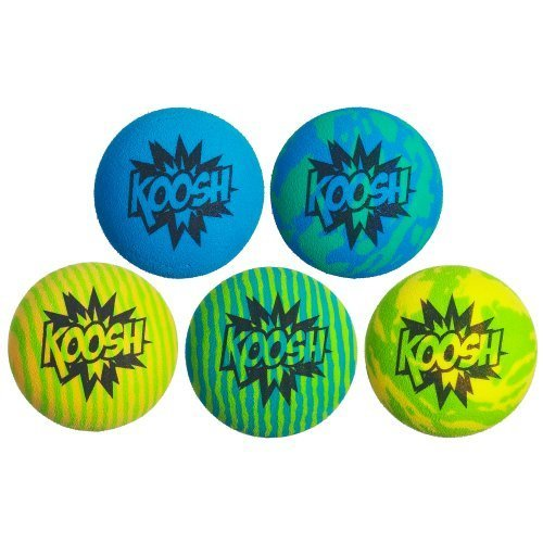 Koosh Ball Refill 5 Pack Blue Green