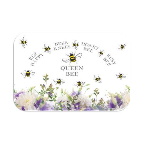 Tuftop Medium Smooth Worktop Saver, Bee Design 1 30 x 40cm