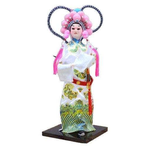 Traditional Chinese Doll Peking Opera Performer - Zhou Yu