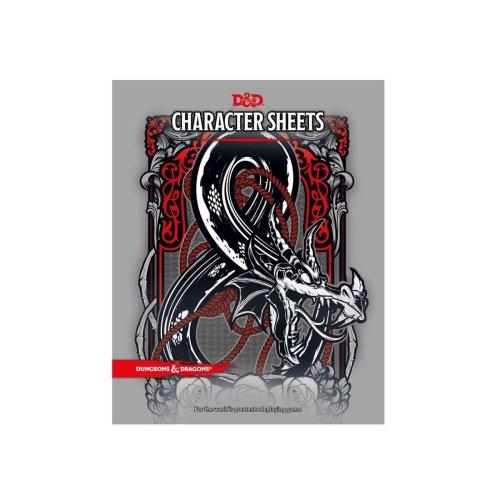 Dungeons & Dragons RPG Character Sheets (24)