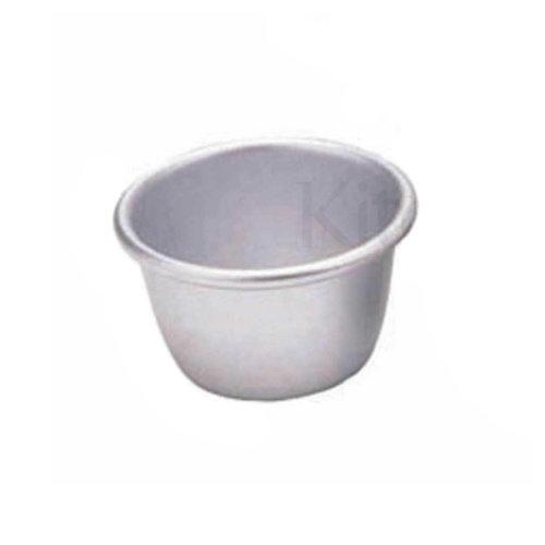 KitchenCraft Anodised Mini Pudding Mould 7.5cm