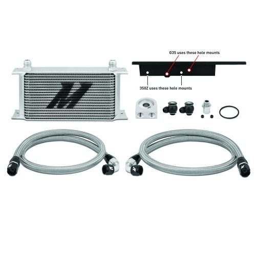 Mishimoto Nissan 350Z 2003-2009 Infiniti G35 2003-2007 Coupe only Oil Cooler Kit