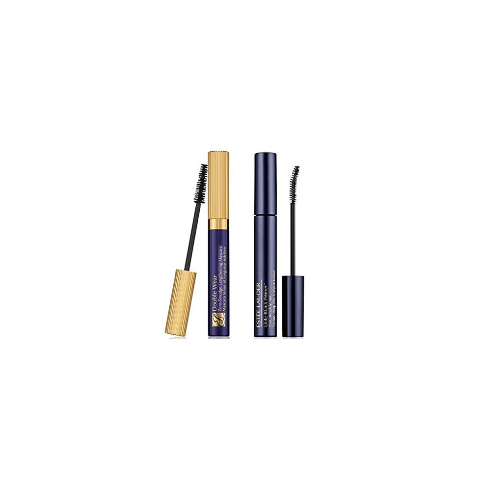 Estee Lauder Layer Your Lashes Duo Little Black rimer am Double Wear Mascara.    def024f1c380a
