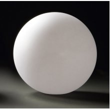Large Ball Table Lamp 1 Light Outdoor IP65 White