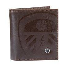 Leeds United Luxury Brown Wallet