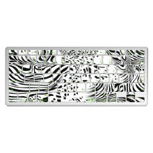 "1 Piece MacBook Pro 13"" Keyboard Sticker Decal Keyboard Skin, Zebra Stripe"